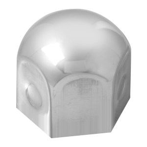 """Stainless Steel 1 ½"""" Standard Lug Nut Cover"""
