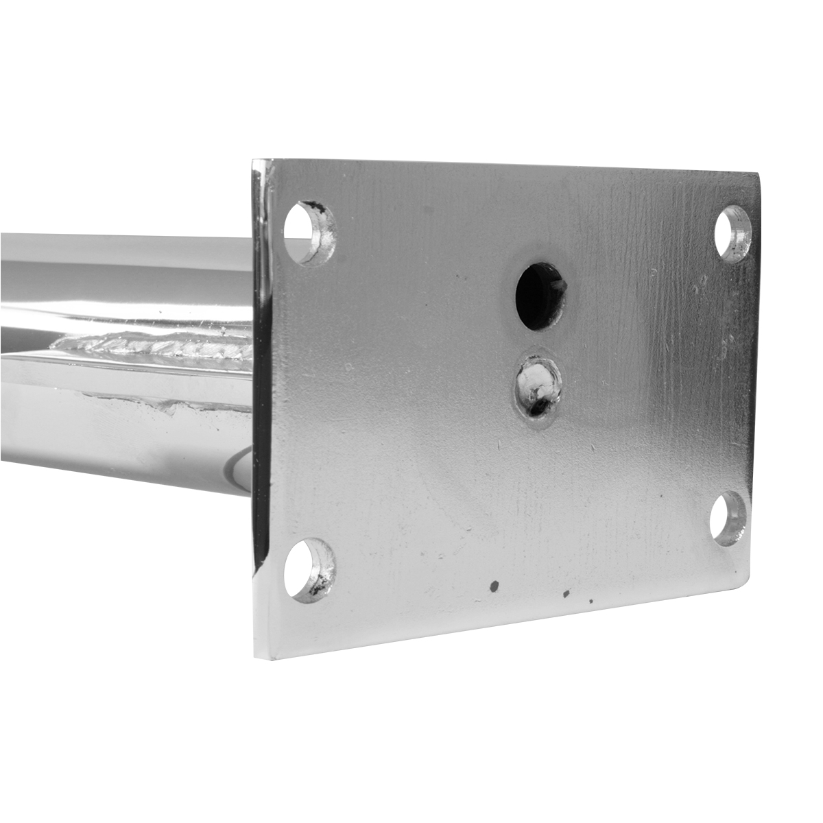 Triangle Shape Mounting Bracket Holder - Side View