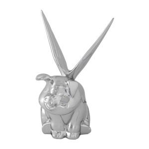 Winged Pig Hood Ornament
