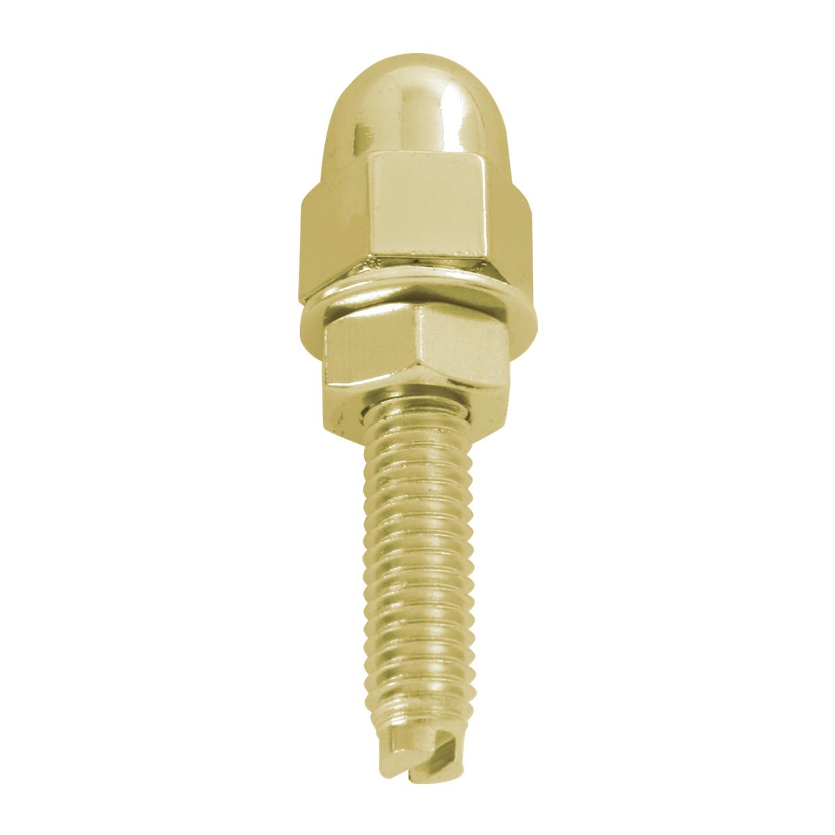 Gold Color Acorn Fastener Set - Single