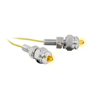 LED Screw Light Fastener Set – Amber