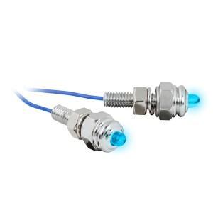 LED Screw Light Fastener Set – Blue