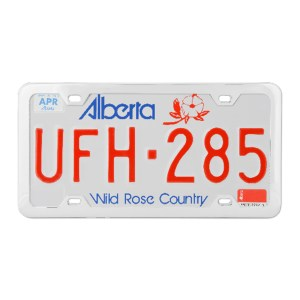Plain 4-Hole License Plate Frames with Thin Bottom