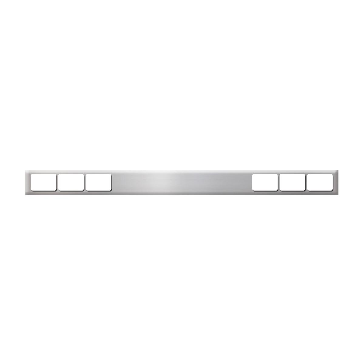 #80126 Chrome Plated Steel Bar