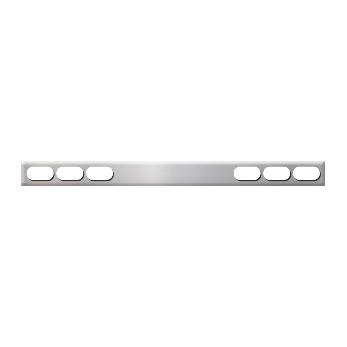 #80137 Stainless Steel One Piece Rear Light Bar Only