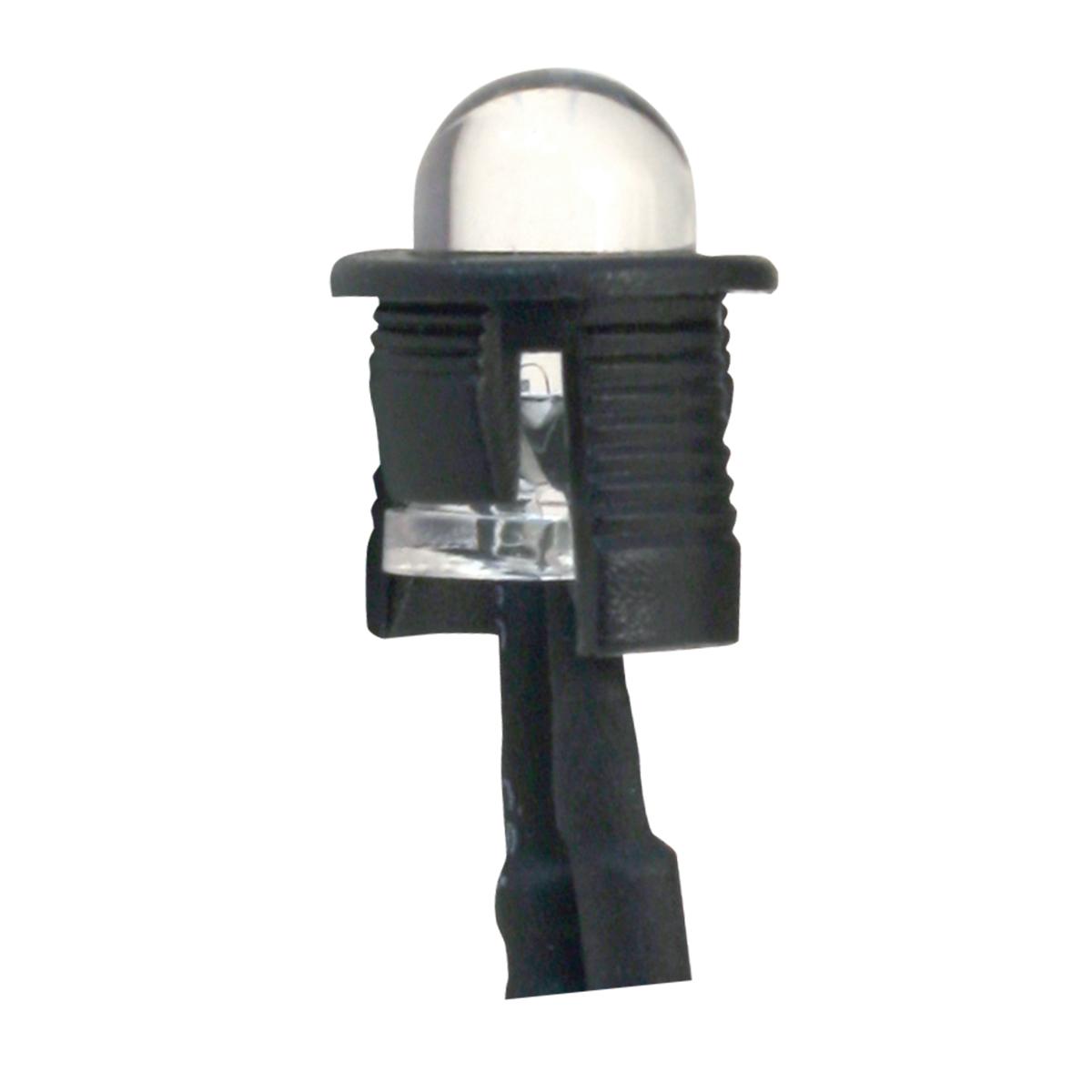 Single Amber LED Light Bulb – Unlit View