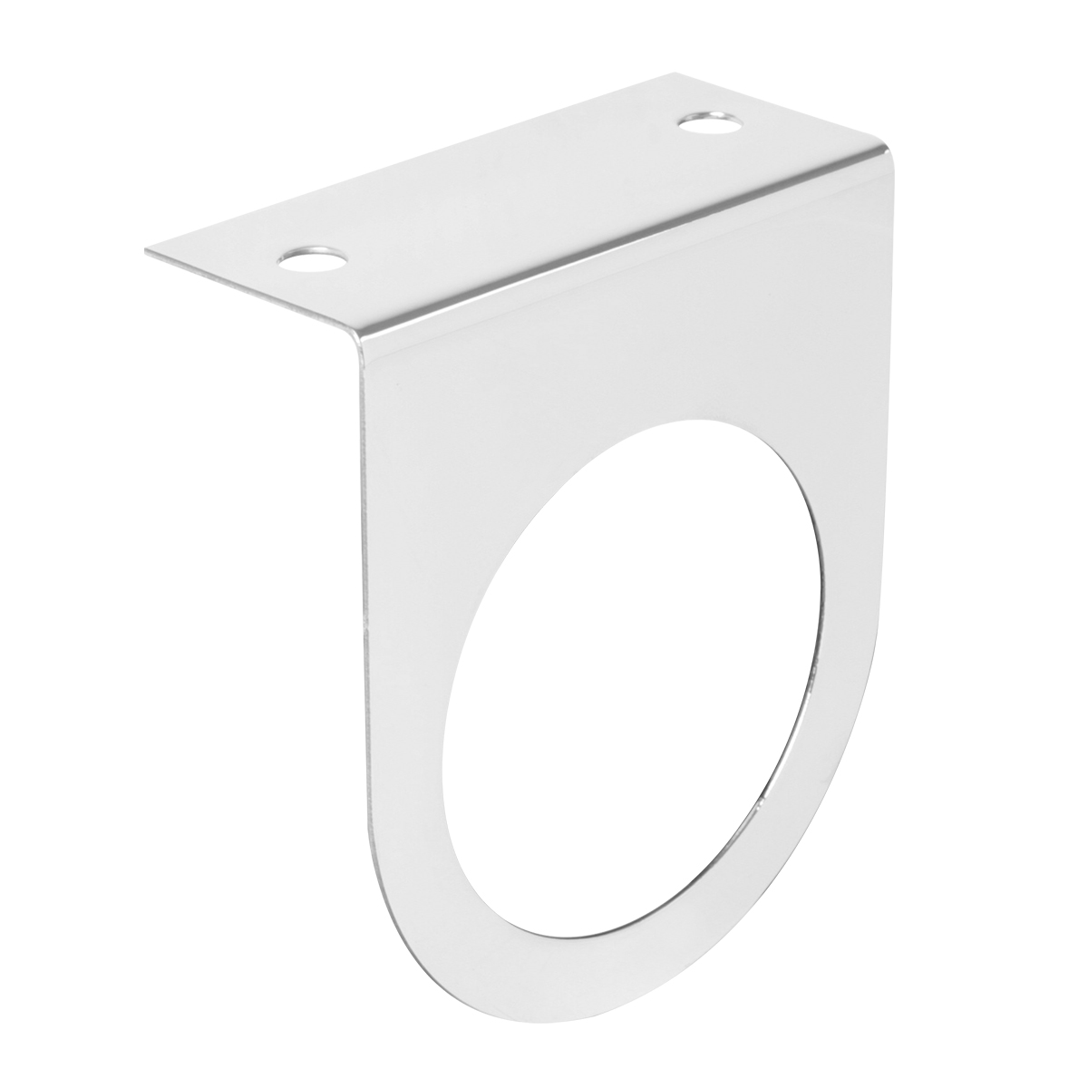 "#81580 Stainless Steel Single Light ""L"" Shape Mounting Bracket Only"