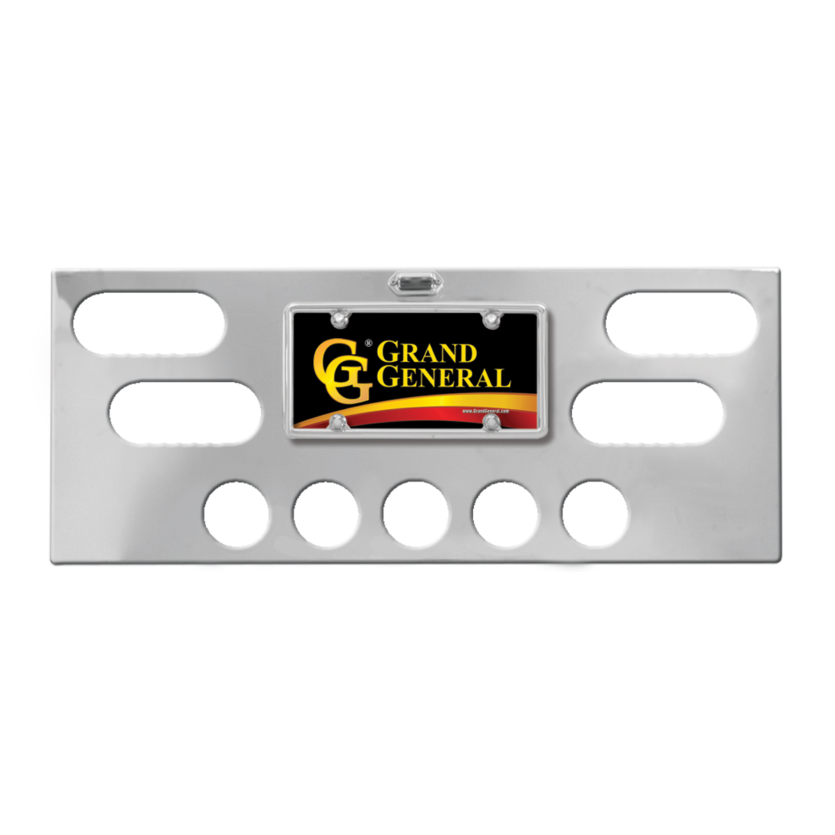 #91640 Chrome Plated Steel Panel Only