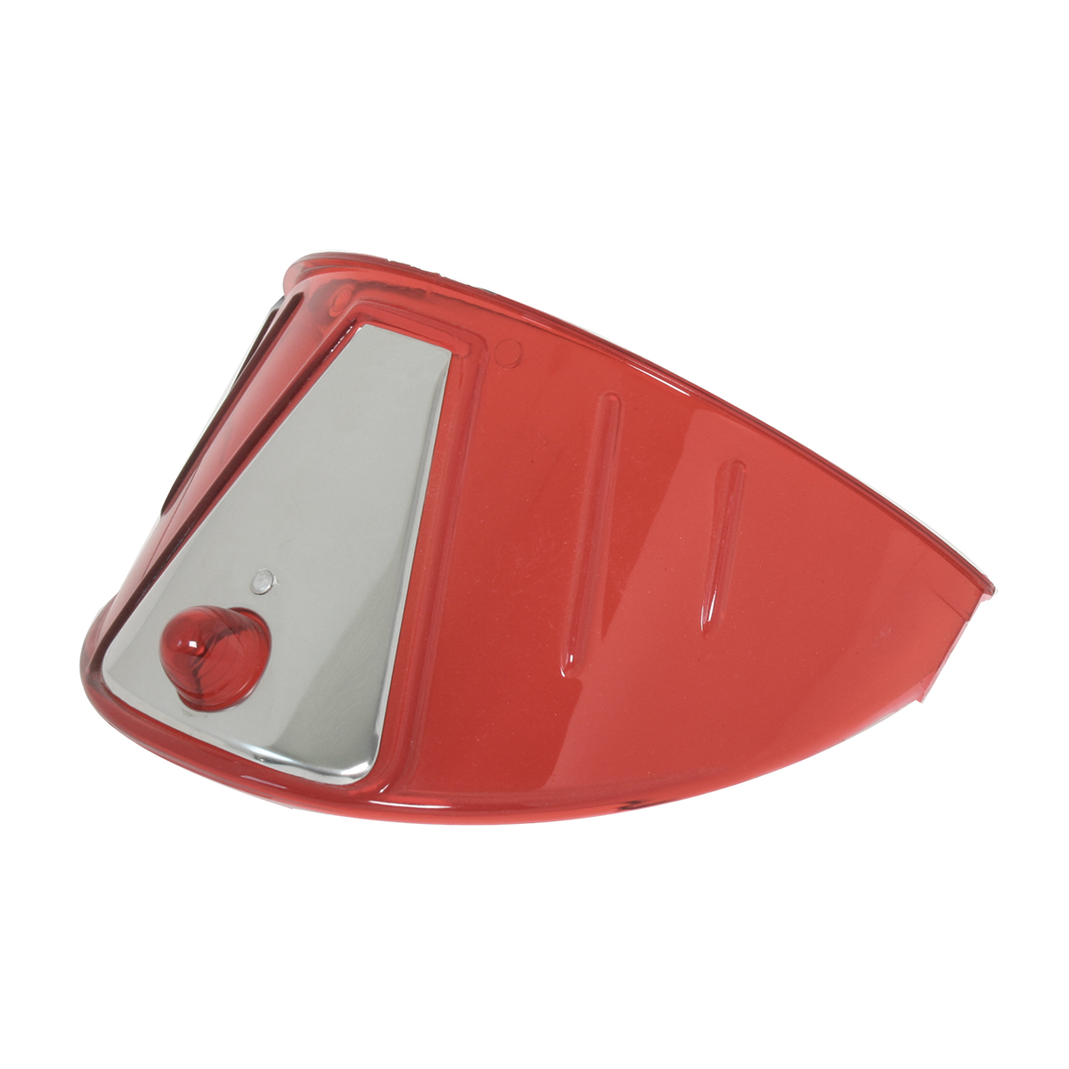 "7"" Acrylic Headlight Visor - Red"