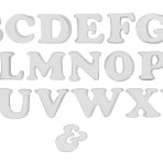 Letter Cut Outs 2