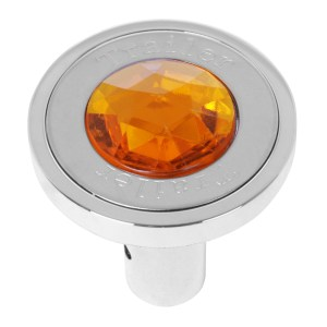 Pin Hole Style Air Control Knobs with Crystal on Top
