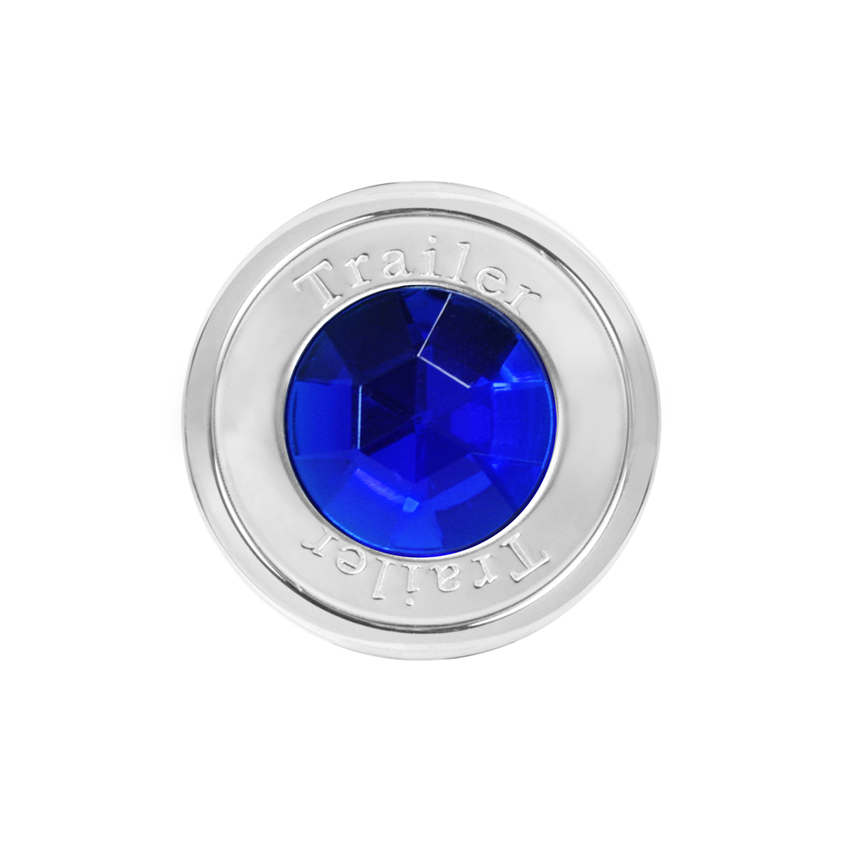 95821 Trailer Air Control Knob w/ Blue Crystal