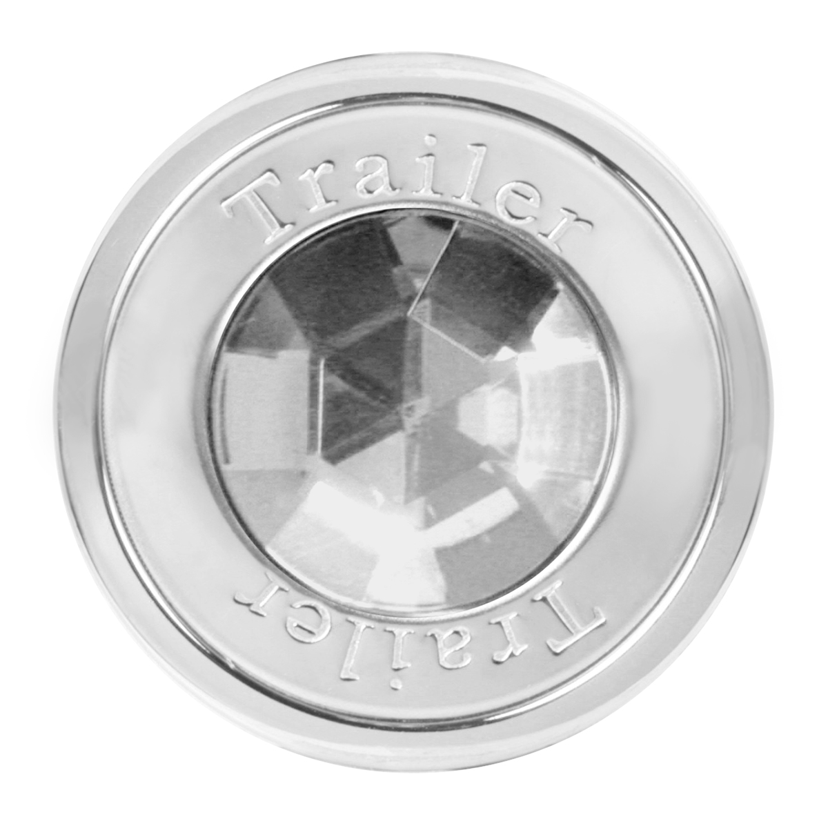 95822 Trailer Air Control Knob w/ Clear Crystal