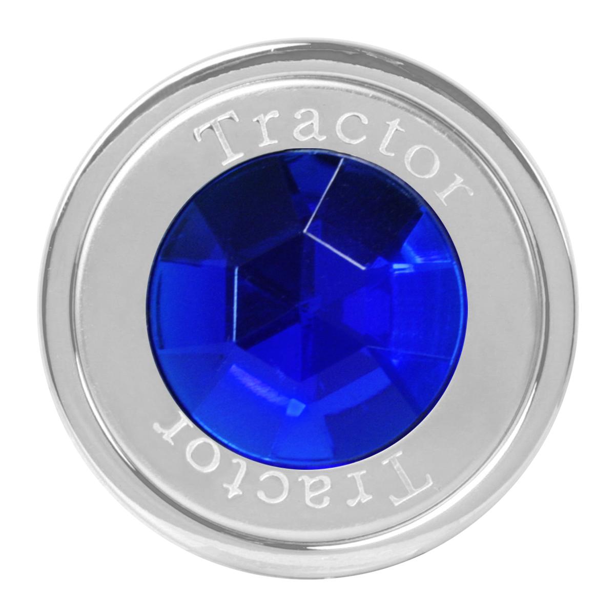 95831 Tractor Air Control Knob w/ Blue Crystal