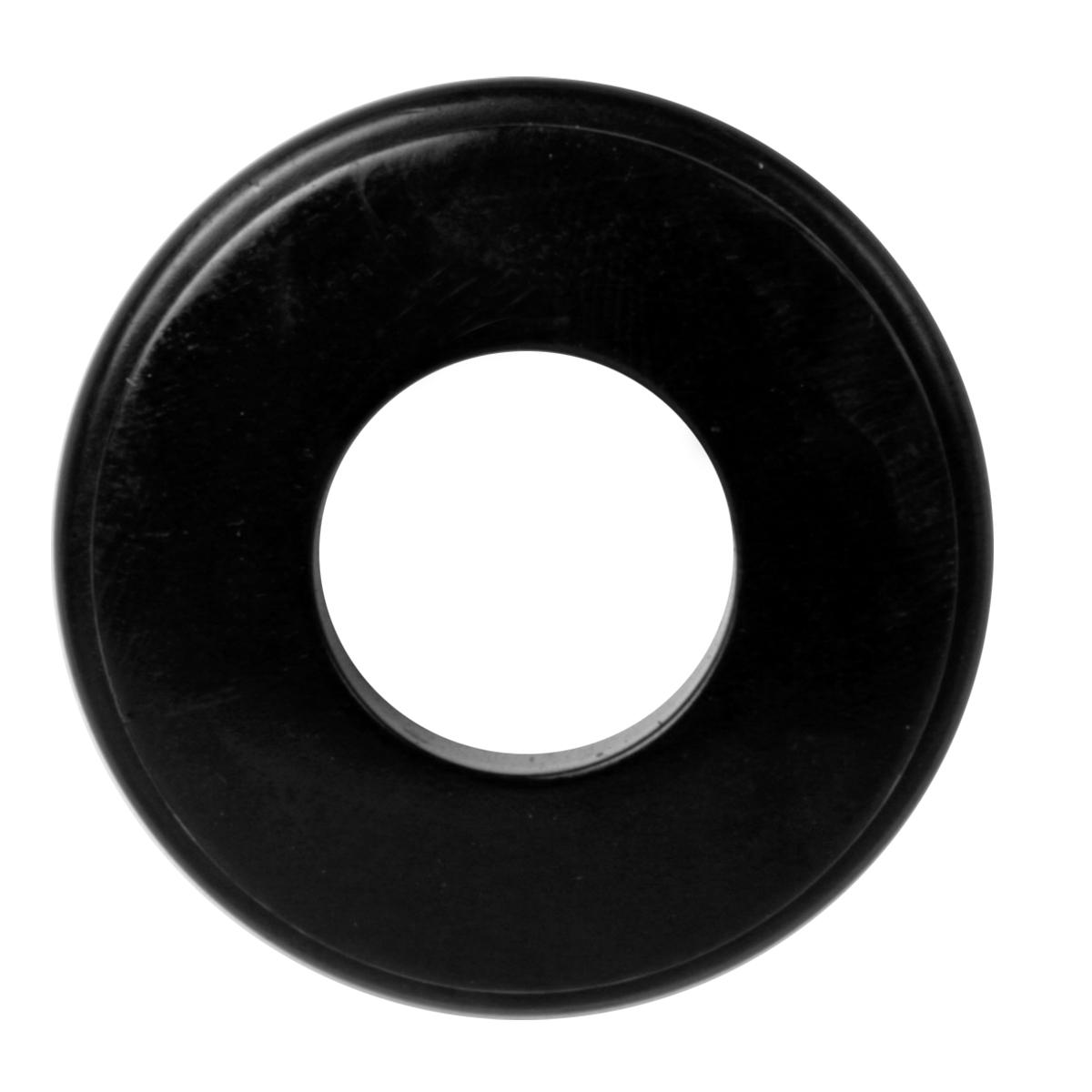 Double Lip/Flat Top Polyurethane Glad Hand Seal – Black