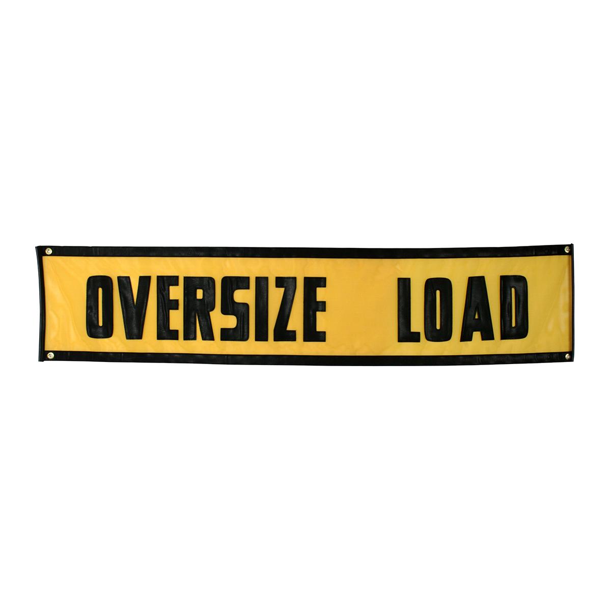 "#99642 Vinyl 84"" (L) x 18"" (W) Oversize Load Sign"