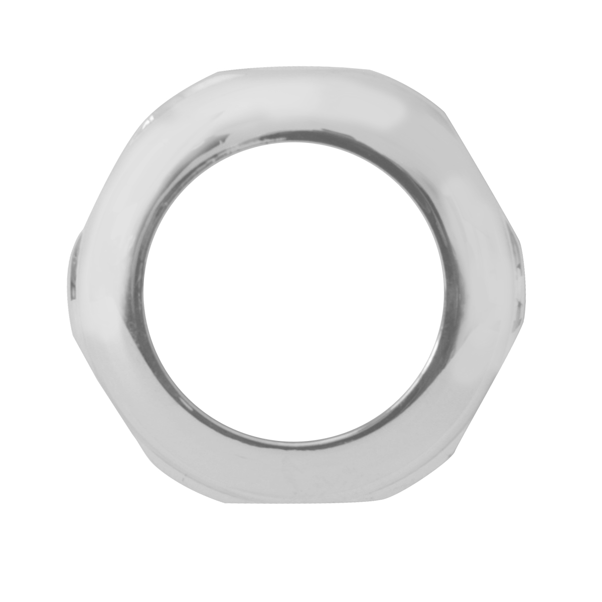 67100 Pete Chrome Steel Face Nut