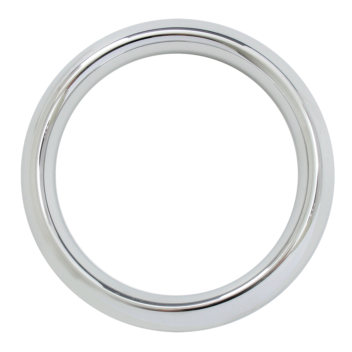 Chrome Plastic Gauge Cover for FL & Pete