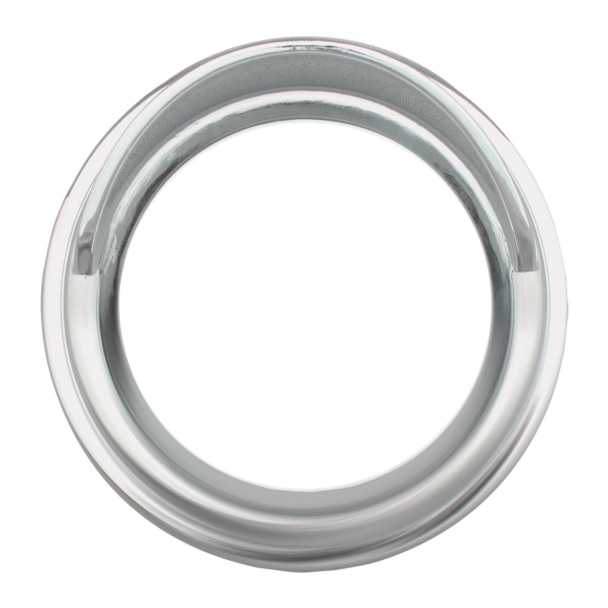 Chrome Plastic Gauge Cover w/ Visor for FL & Pete