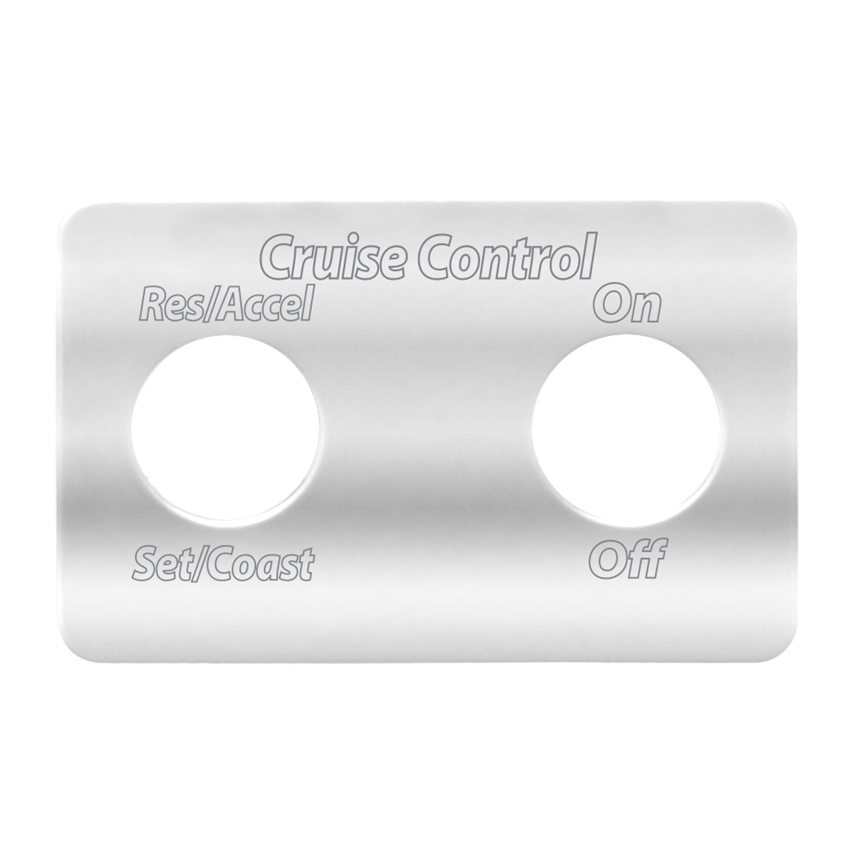 68740 FLT Stainless Steel Switch Plate