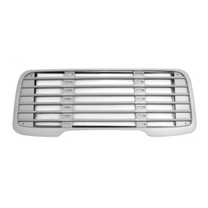 Plastic Grille Silver Paint Finish with Bug Screen for Freightliner