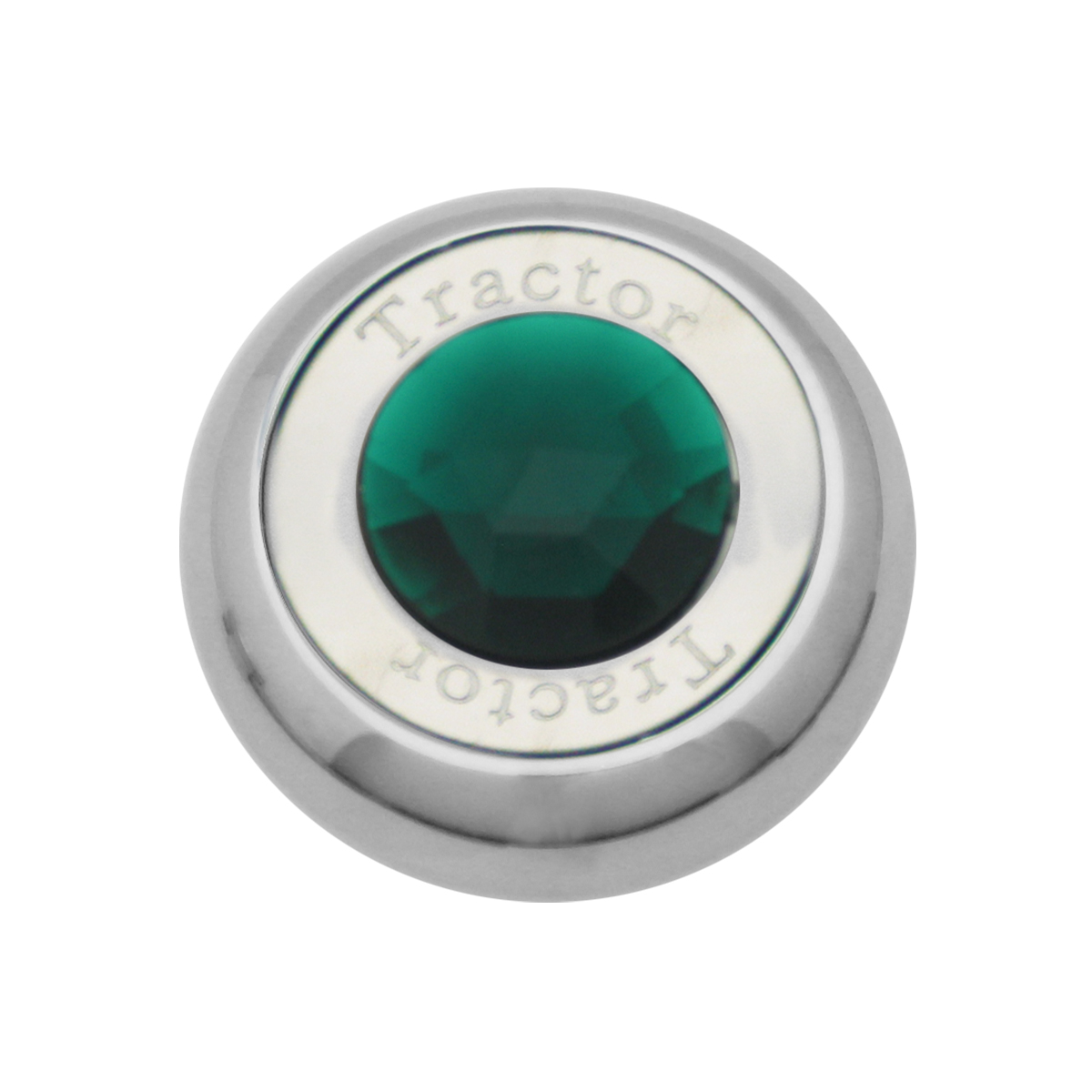 95373 Chrome Screw-In Air Valve Control Knob w/ Crystal