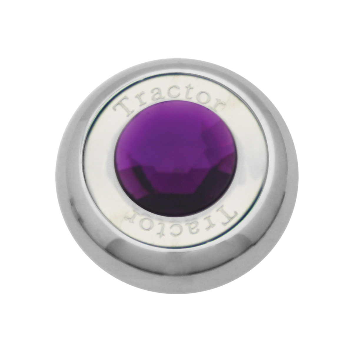 95374 Chrome Screw-In Air Valve Control Knob w/ Crystal