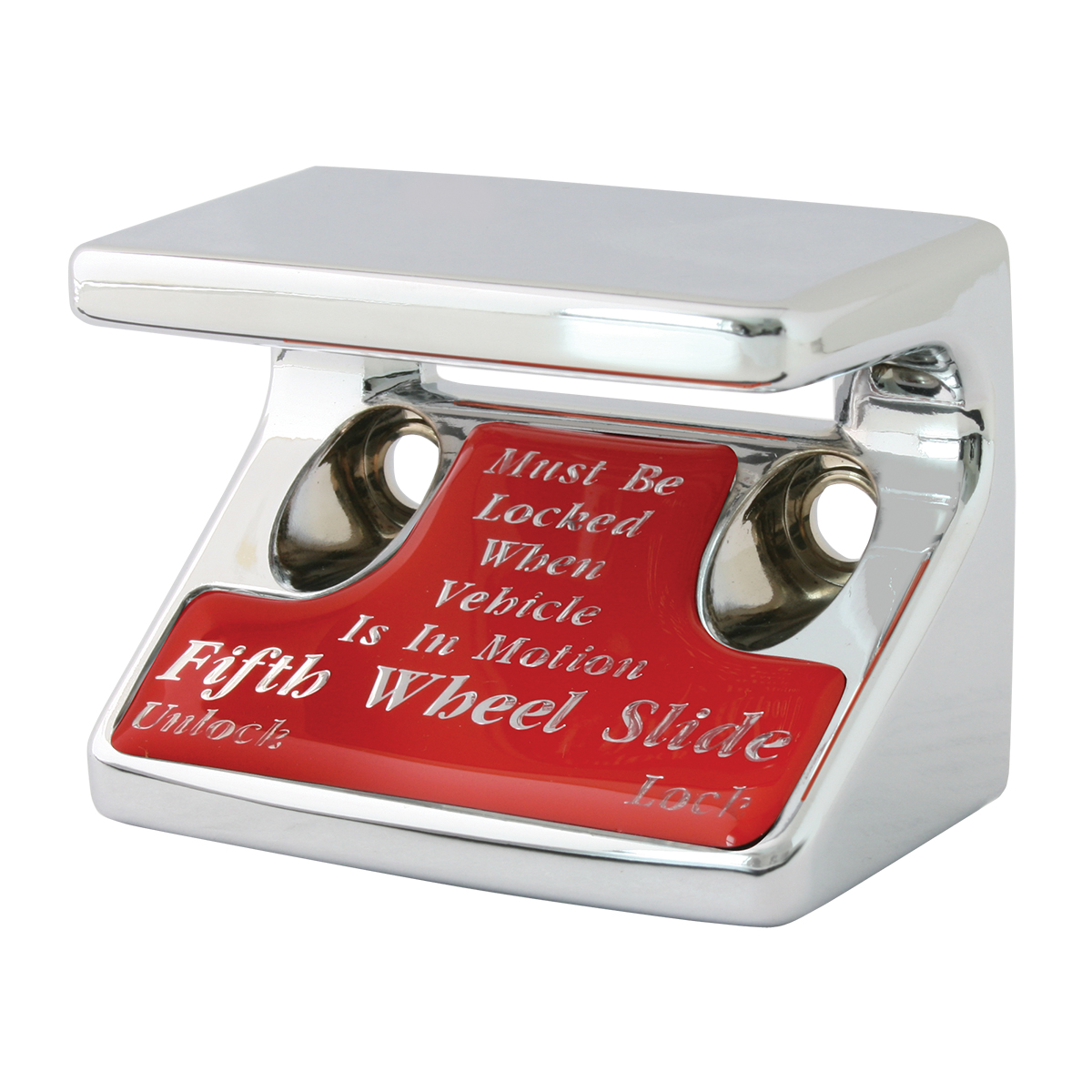 96125 5th Wheel Switch Guard in Red Glossy Sticker