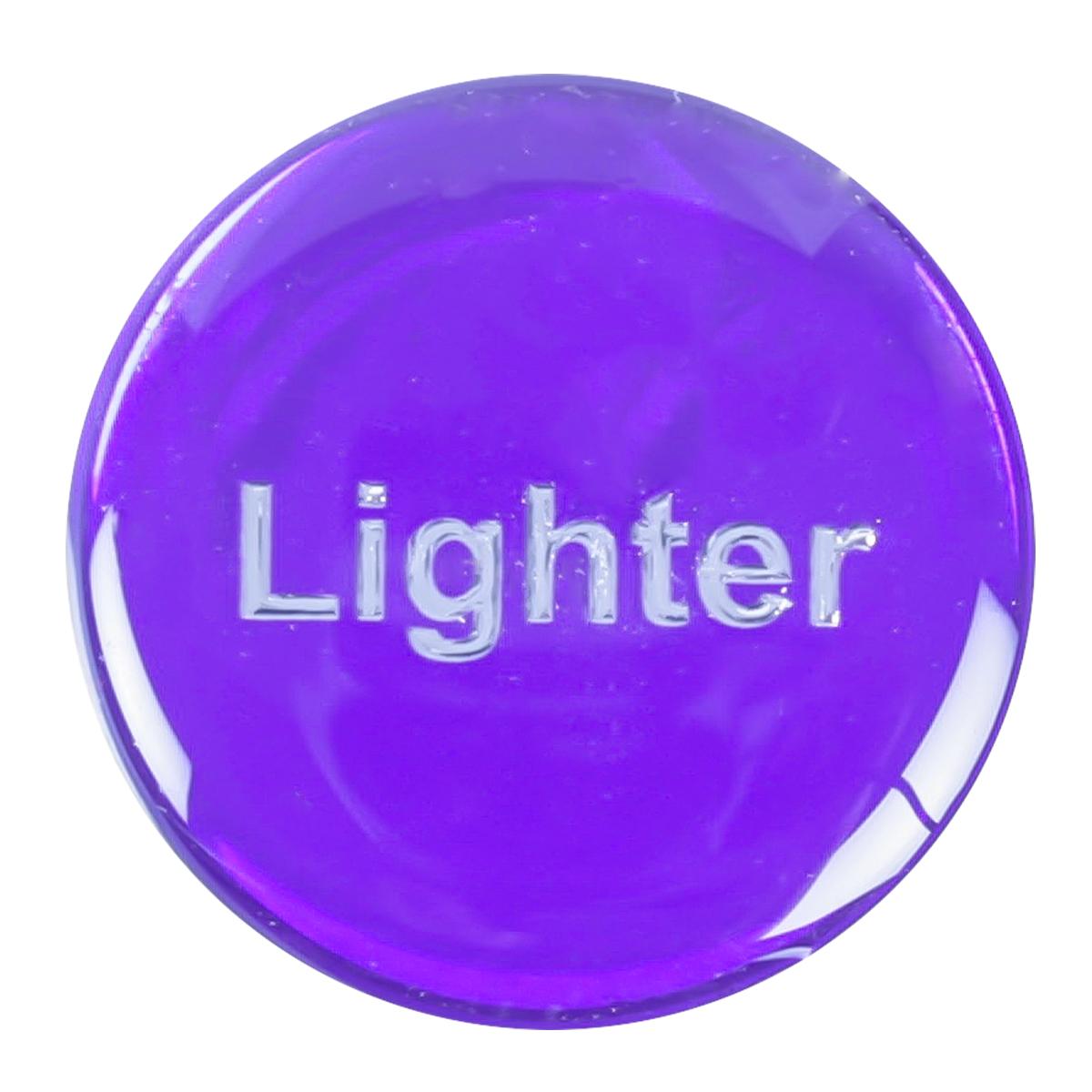 96254 Purple Sticker for Cigarette Lighter Knob