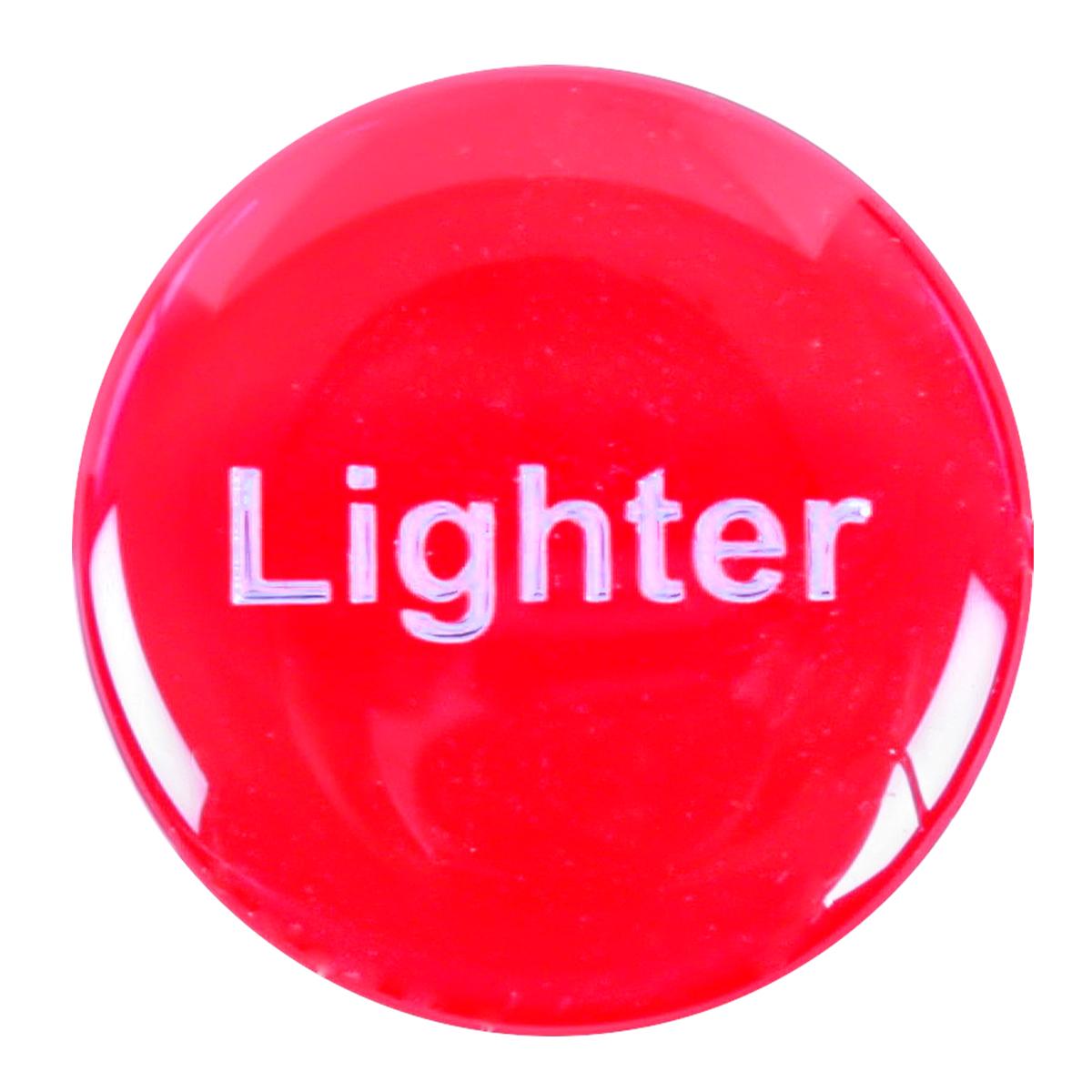 96655 Red Sticker for Cigarette Lighter