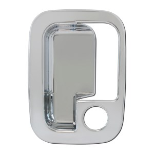 Chrome Plastic Exterior Door Handle Cover (Driver Side) for Pete