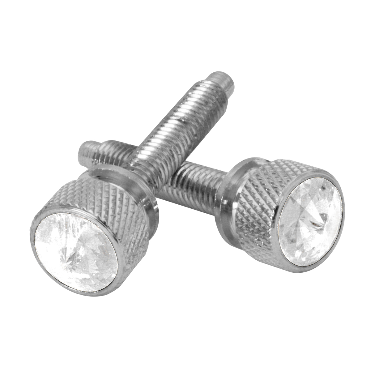 67142 KW Dash Screws with Clear Crystal