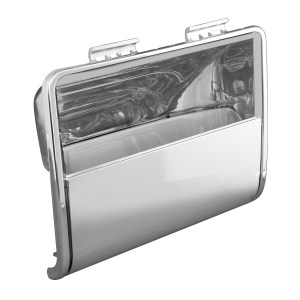 67811 Chrome Plastic Overhead Storage Pocket Passenger Side for FL Century/Columbia/Coronado
