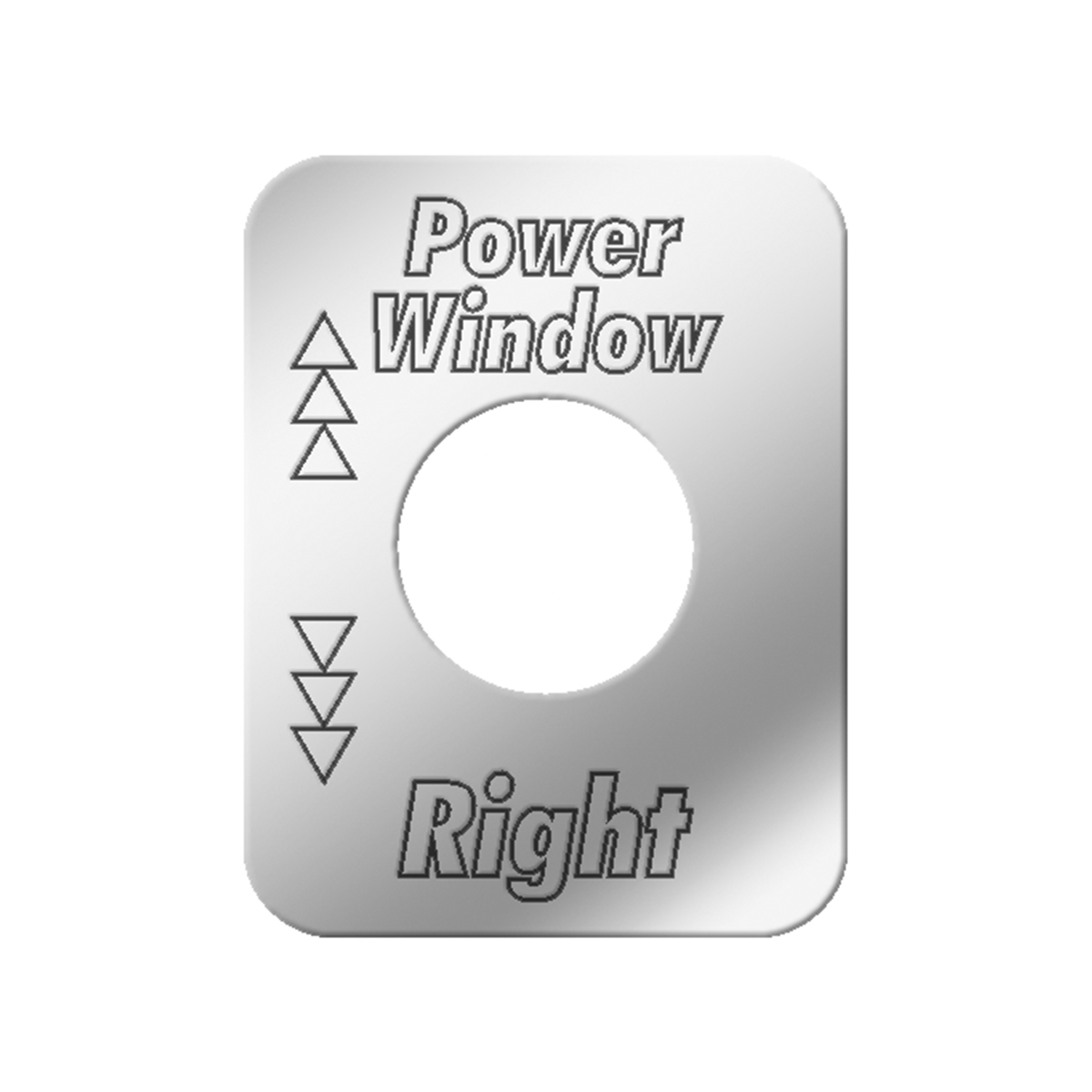 #68563 Power Air Operated Window - Right