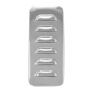 97569 Stainless Steel Louver Exterior Vent Door Cover for Pete