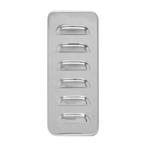 97572 Stainless Steel Louver Exterior Sleeper Vent Cover