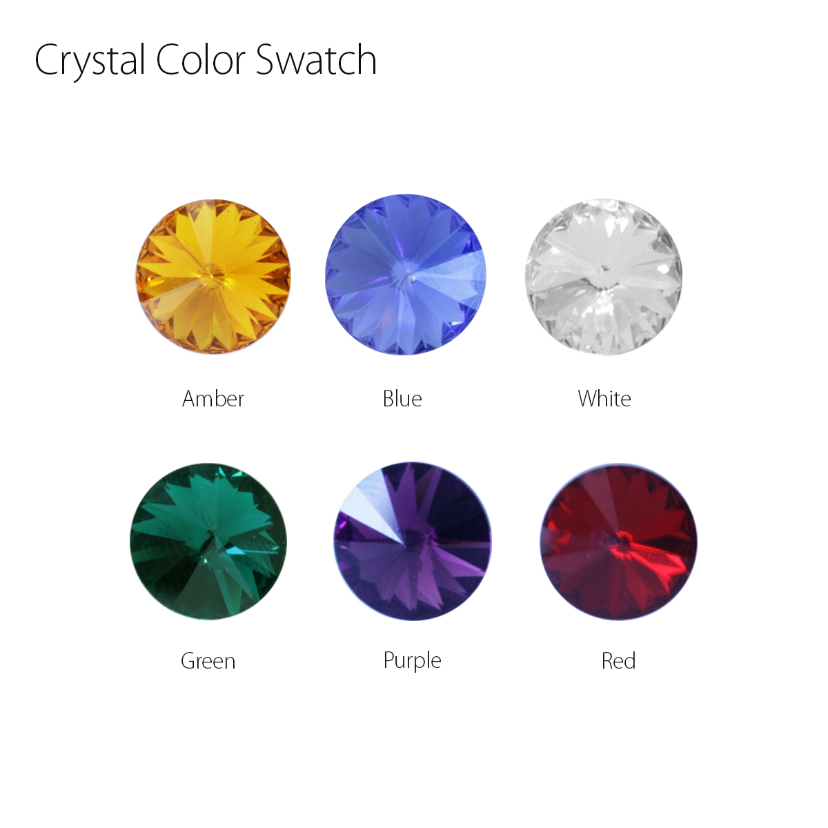 Crystal Color Swatch