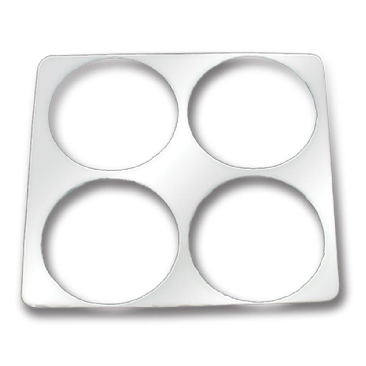 68910 KW Chrome Soft Plastic Left Gauge Trim
