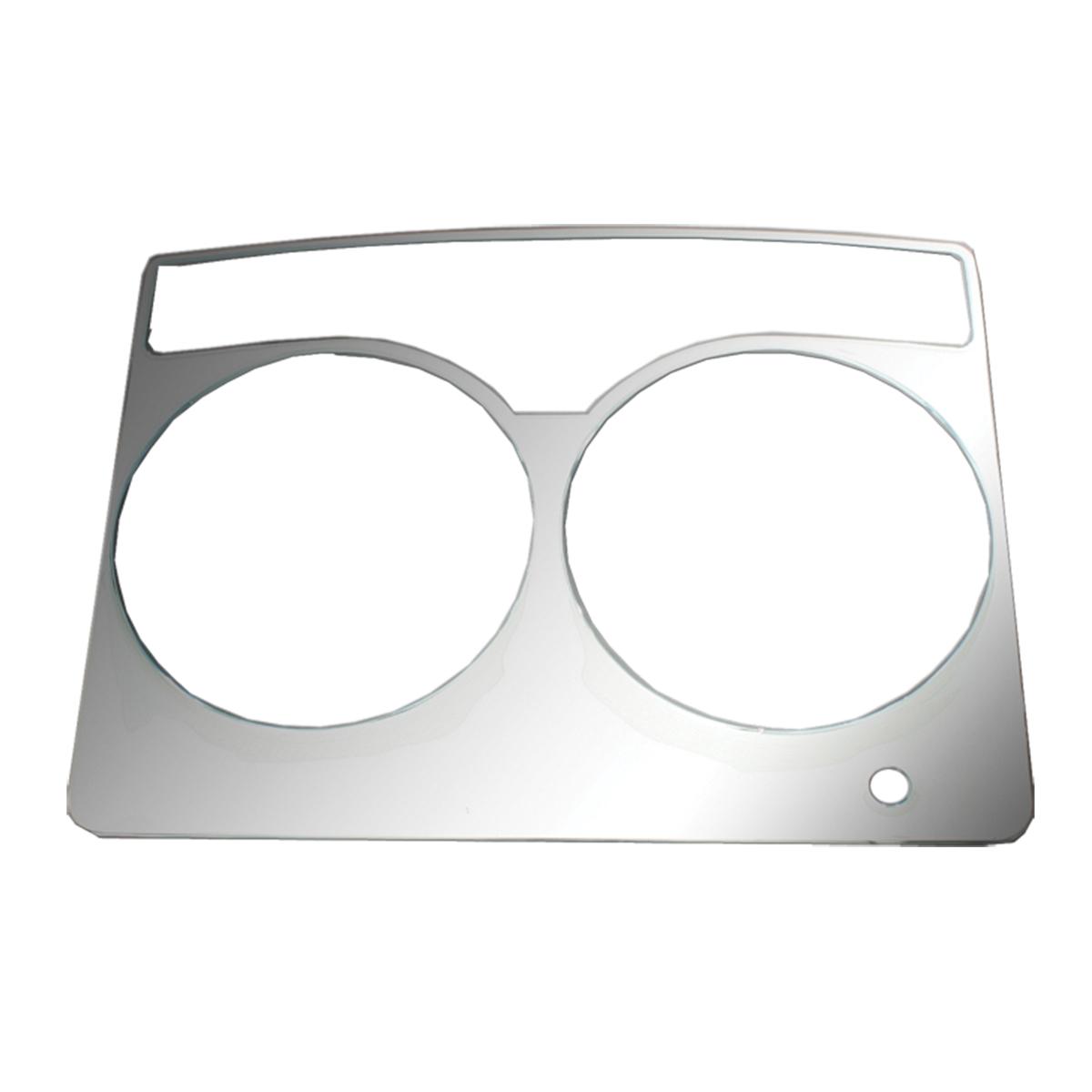 68911 KW Chrome Soft Plastic Speedometer Gauge Trim