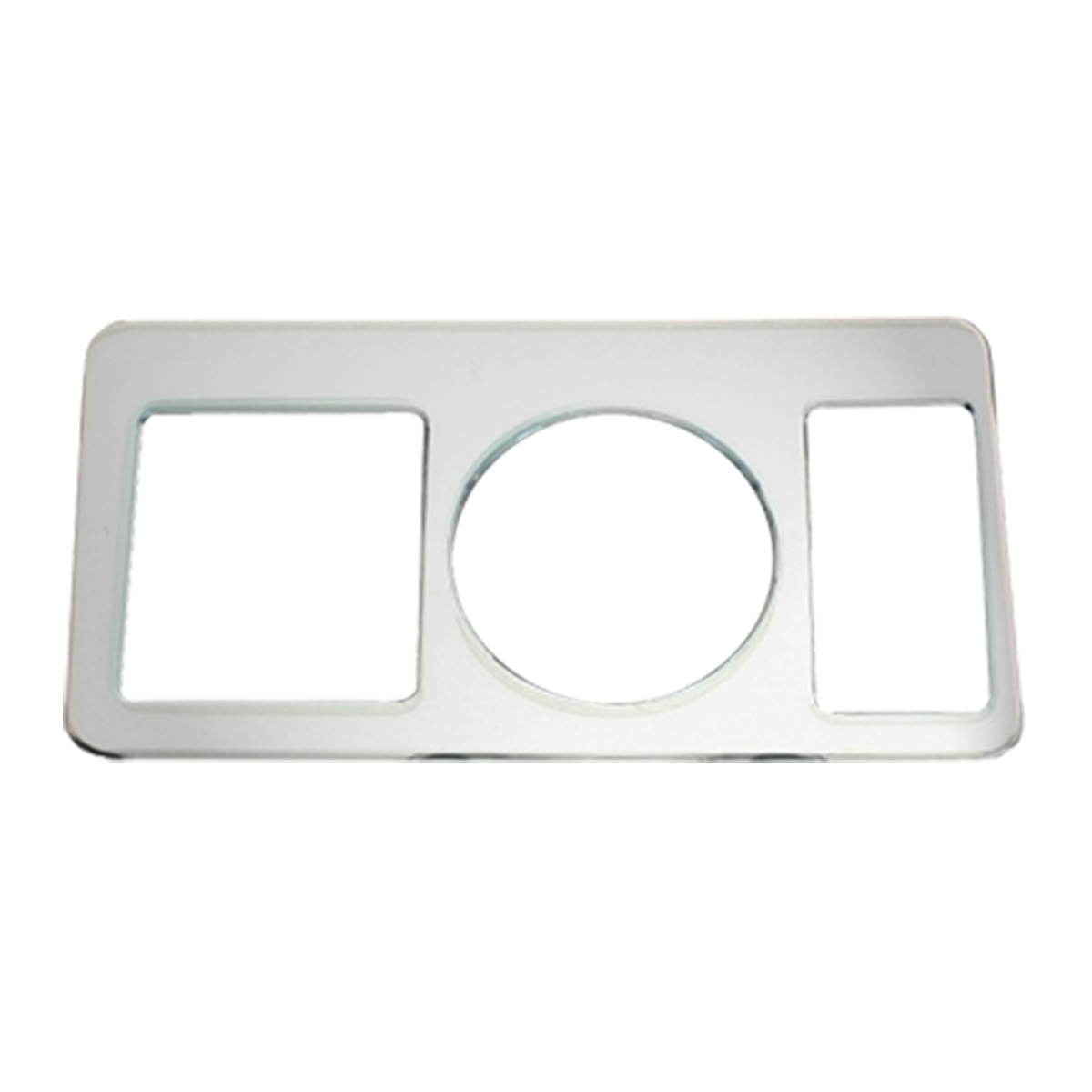 68917 KW Chrome Soft Plastic Left Control Trim