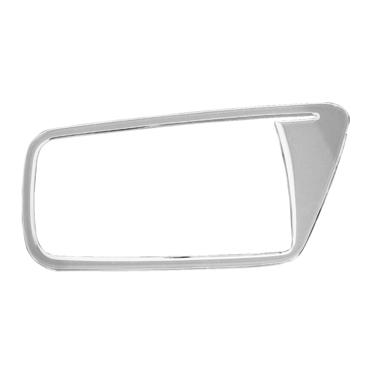 68928 KW Chrome Soft Plastic Passenger Side Door Ring