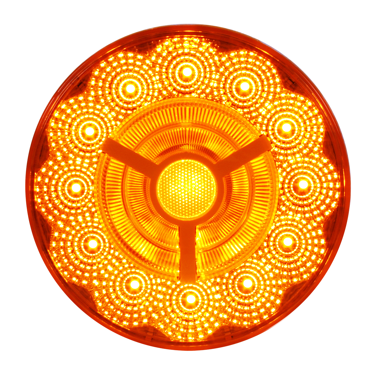 "74870 4"" Prime Spyder LED Light in Amber/Amber"