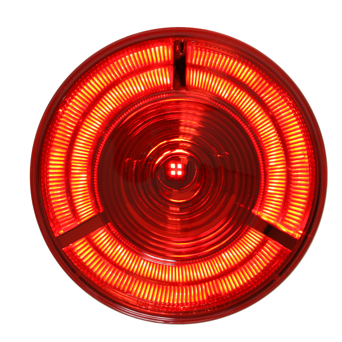 "74880 4"" Prime LED Light in Red/Red"