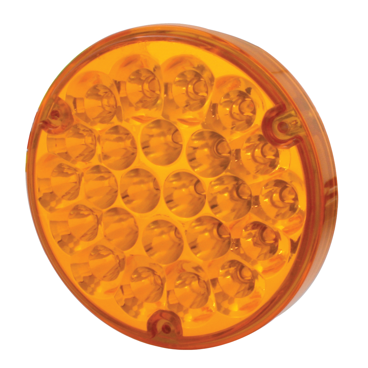 "76150 4"" Pearl LED Load Light in Amber/Amber"