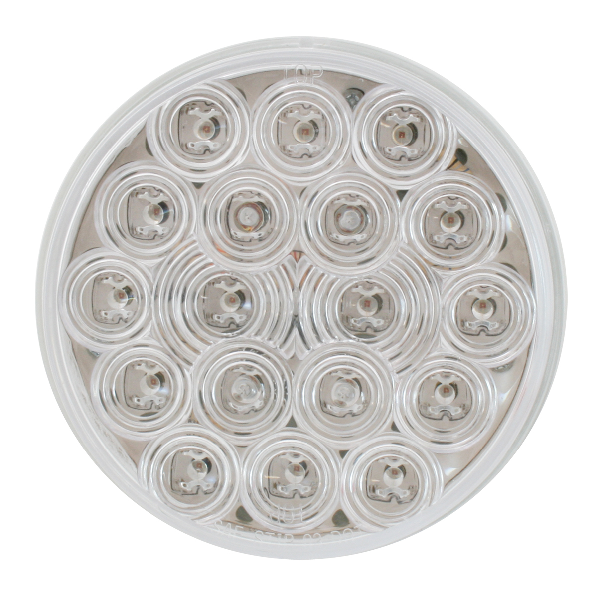 "4"" Fleet LED Light in Clear Lens"