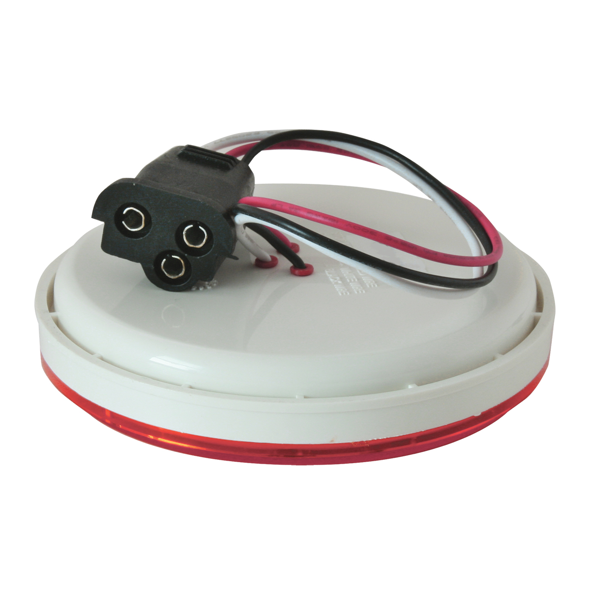 """76722 4"""" Twister LED Light in Red/Red"""