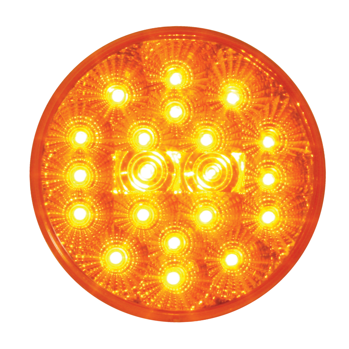 "77090 4"" Spyder LED Light in Amber/Amber"