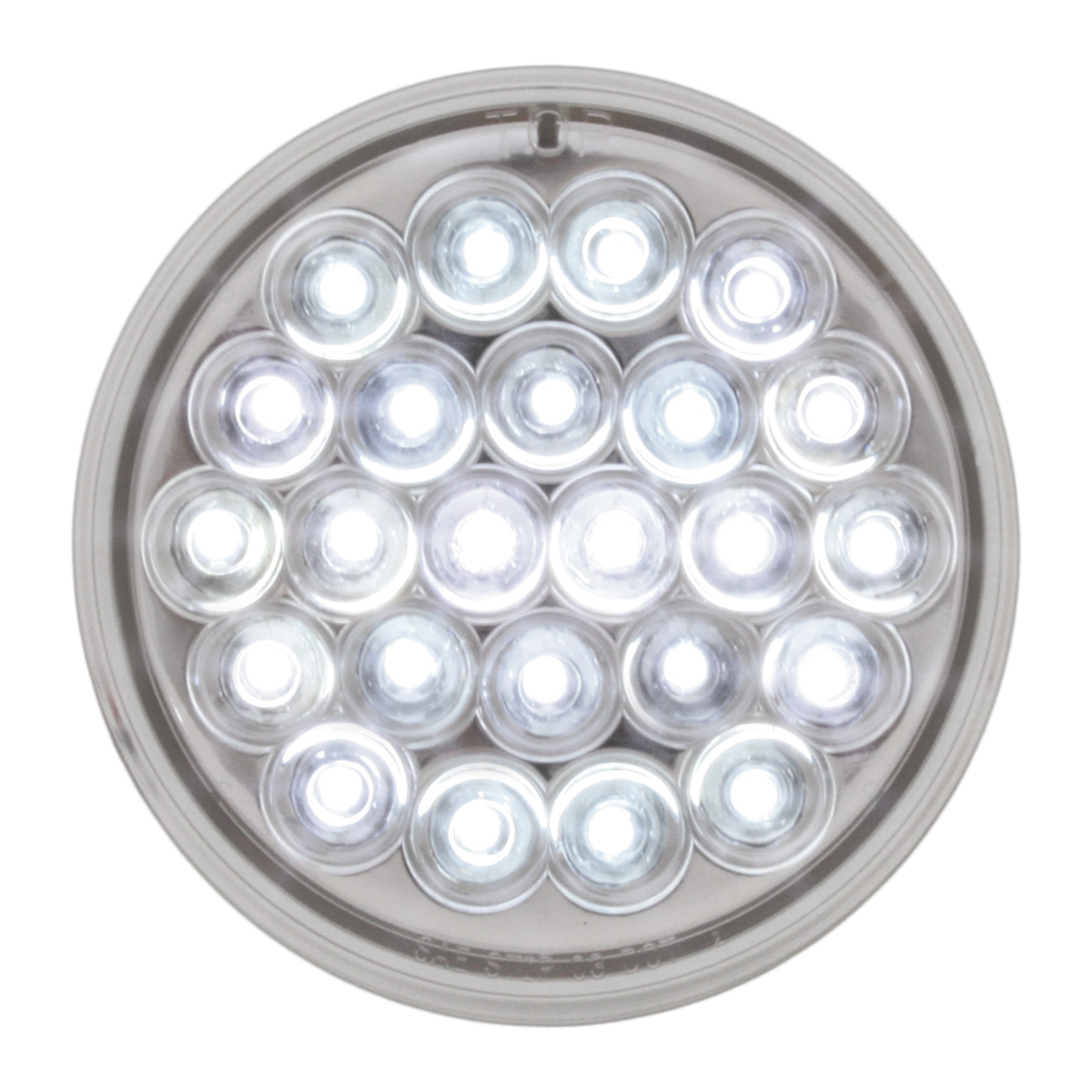 "78272 4"" Pearl LED Light in White/Clear"