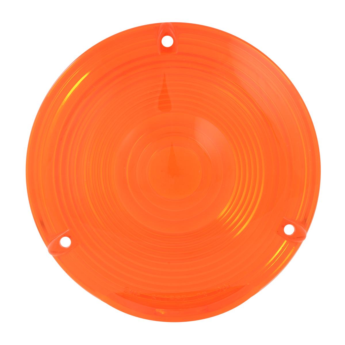 """#80301 4"""" Flange Mount Light - Amber Lens Only"""