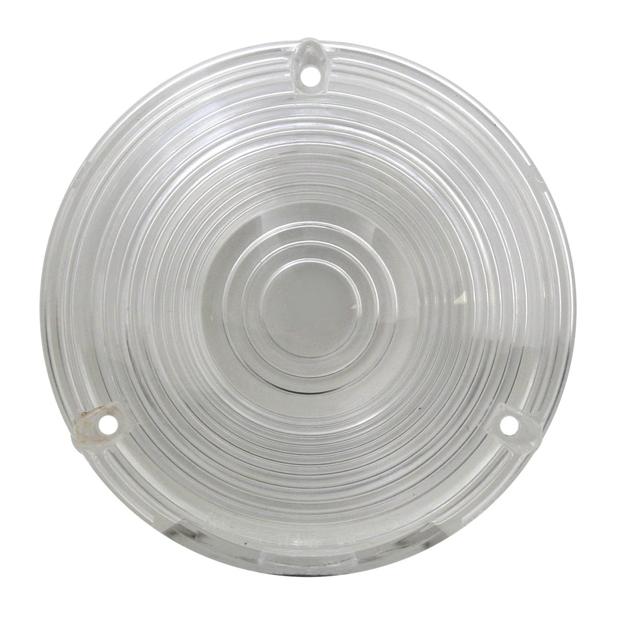 """#80378 4"""" Flange Mount Light - Clear Lens Only"""